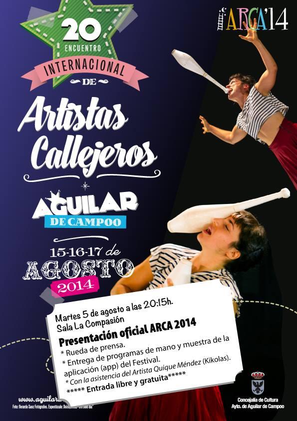 ARCA 2014, DEL 15 AL 17 DE AGOSTO EN AGUILAR DE CAMPOO